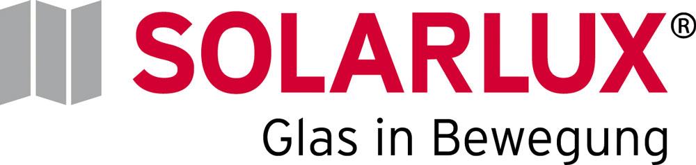 Logo SOLARLUX Claim 4 farbig
